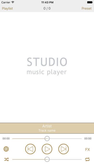 Studio Music Player-录音室级别的专业音乐播放器