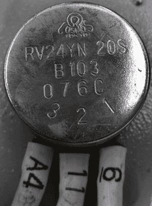 电位器三个引脚的分辨方法
