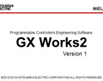 三菱PLC编程软件GX works2英文版