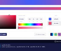一个网页背景在线CSS代码生成网站