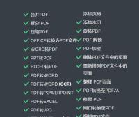 PDF爱好者的在线工具-ilovepdf